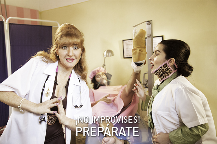 ¡No improvises!  Prepárate